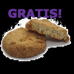 Gratis Cookies zu jeder Bestellung! CBD Blüten und Cookies - perfekt!